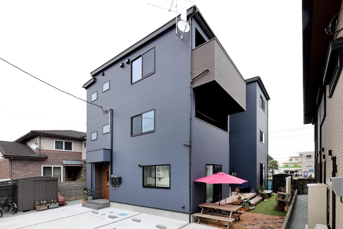 Kさんが建てた注文住宅の外観