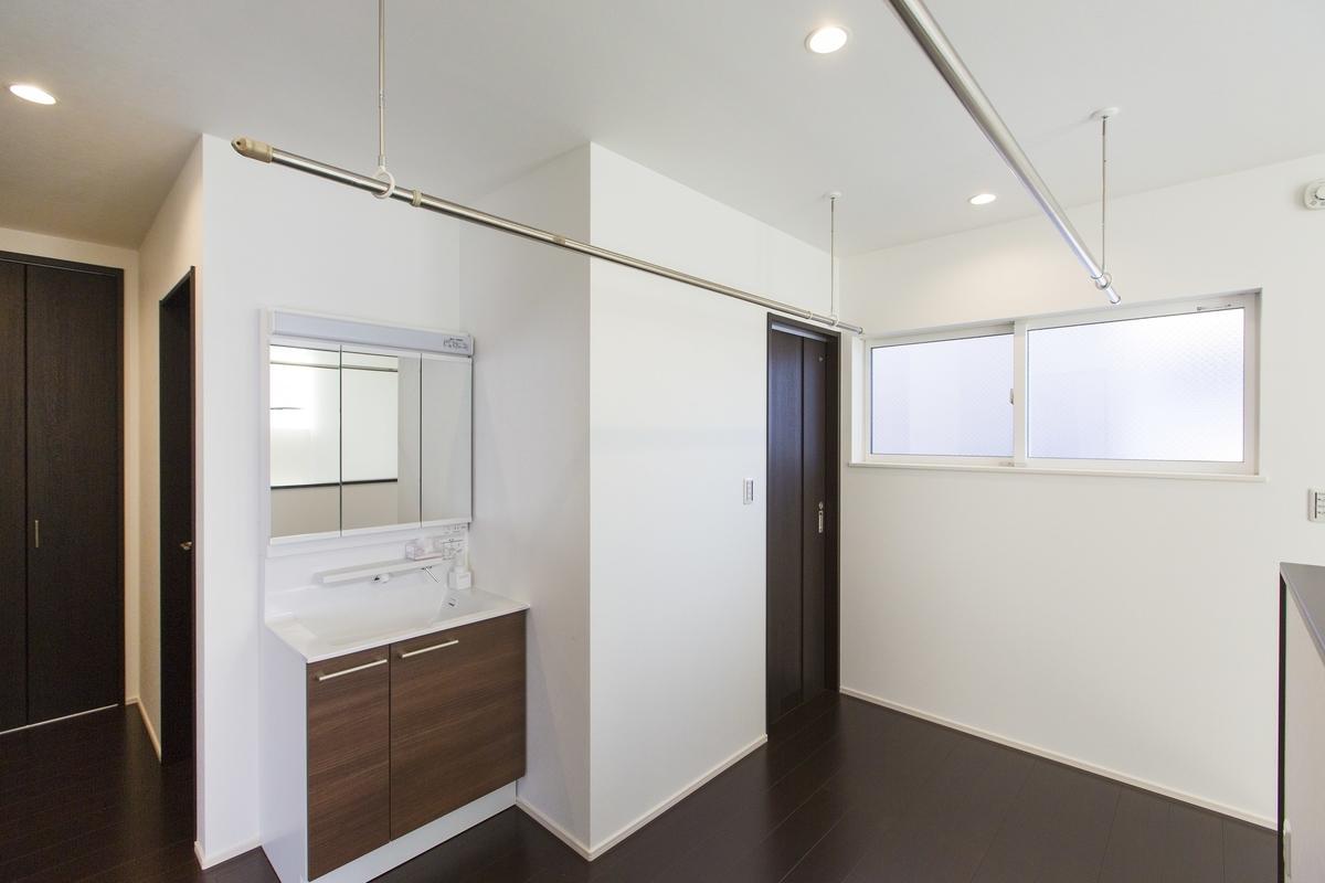 物干しスペースとしても使える広めの2階ホール