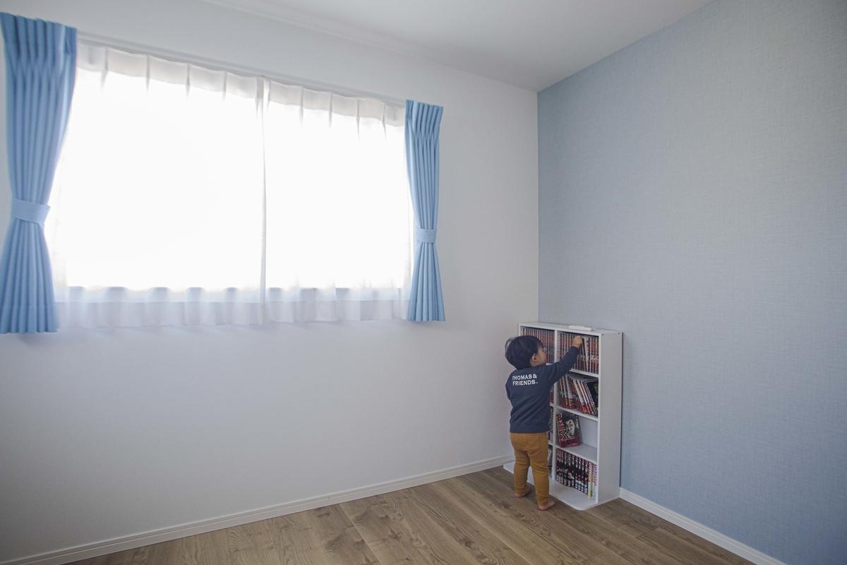 子供部屋に使う予定の居室/注文住宅実例