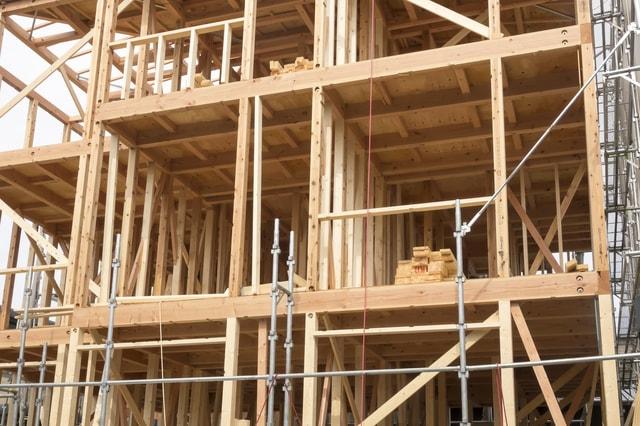 建築条件付き土地での家づくりのイメージ図