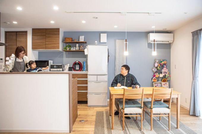 埼玉県の注文住宅実例;ダイニングキッチン
