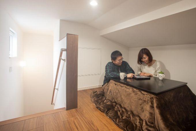 隠れ家感覚のロフトスペース/注文住宅実例