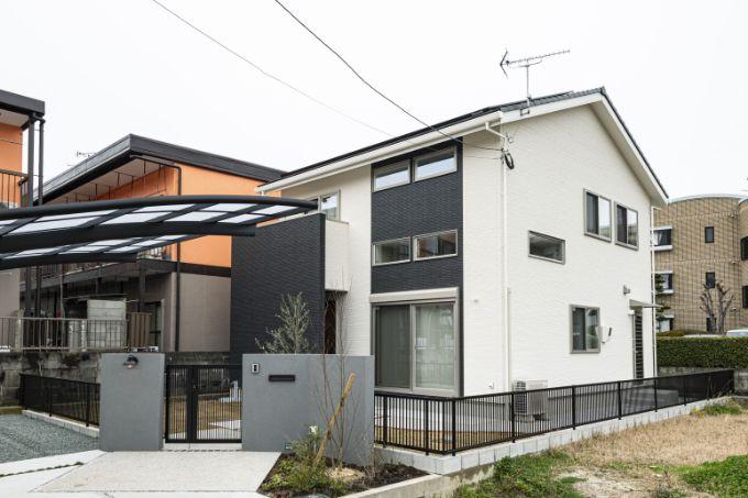 Rさんが建てた注文住宅の外観