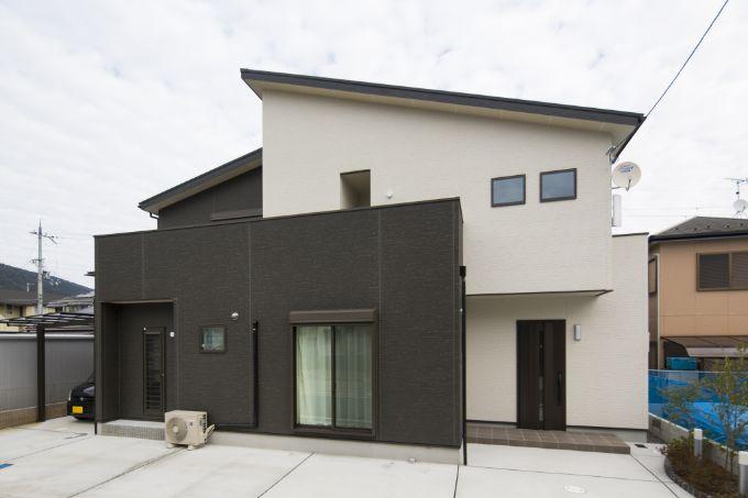 Hさんが建てた注文住宅の外観