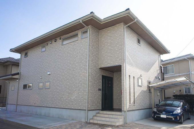 汚れの付きにくい光触媒塗料を使用した外壁/注文住宅実例