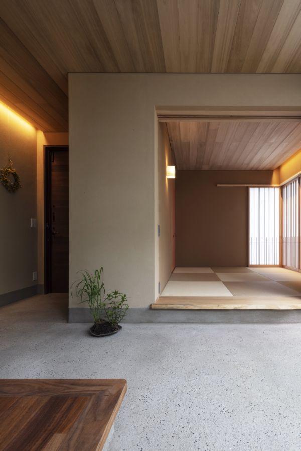 三和土の土間がある注文住宅