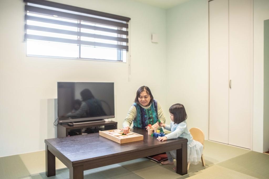 バリアフリーに考慮した親世帯の居室/注文住宅実例