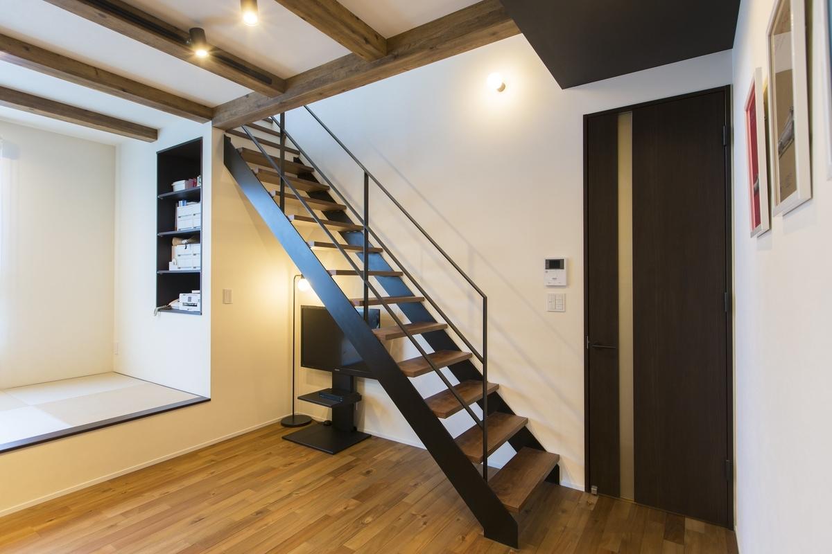 さまざまな用途に使える畳コーナー/注文住宅実例