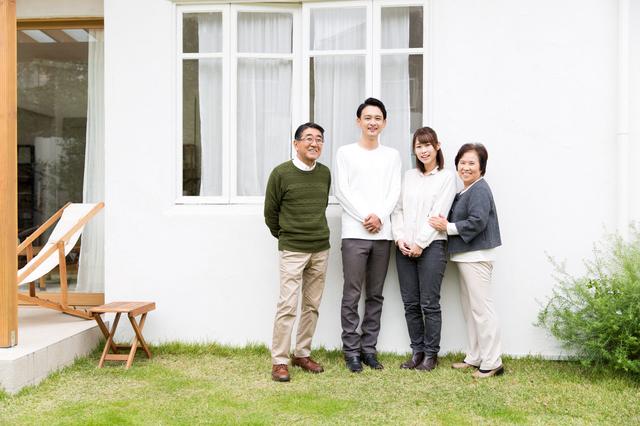 二世帯住宅の写真