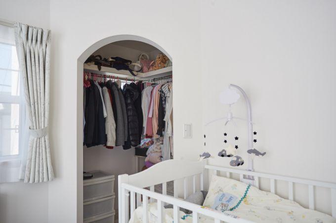 将来を考えて間仕切りのできる子ども部屋に/注文住宅実例