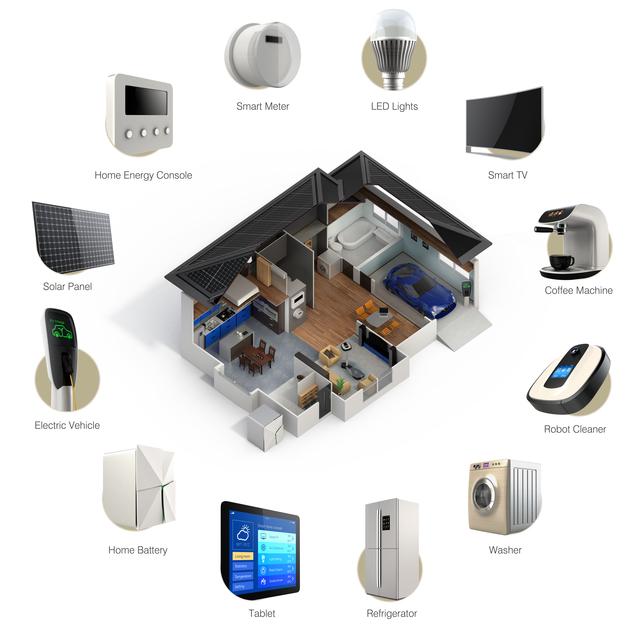 スマートホームのイメージ画像