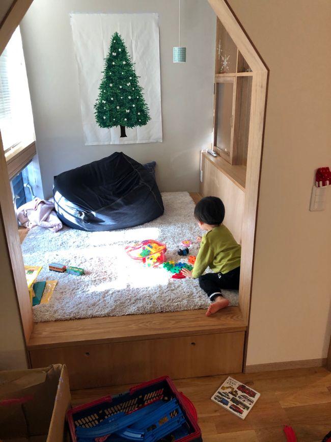 ヌックを子どもの遊び場に活用した実例