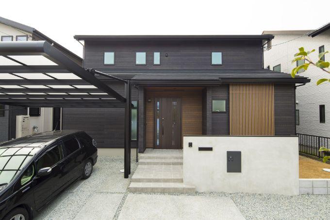 Aさんが建てた注文住宅の外観