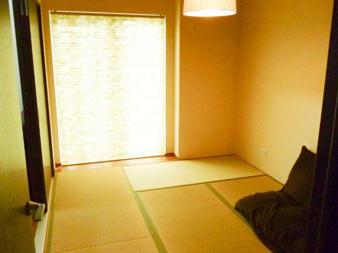 日当たりのよい和室/注文住宅実例
