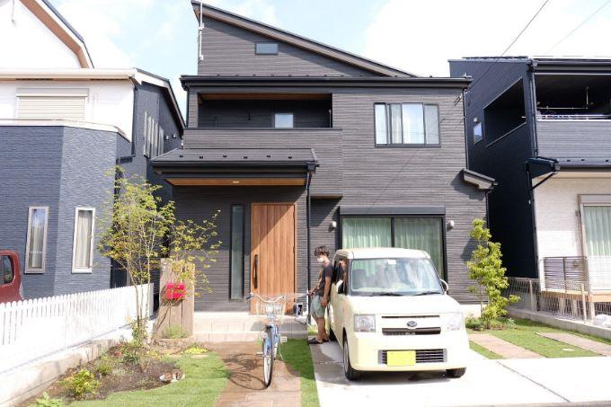 Sさんが建てた注文住宅の外観
