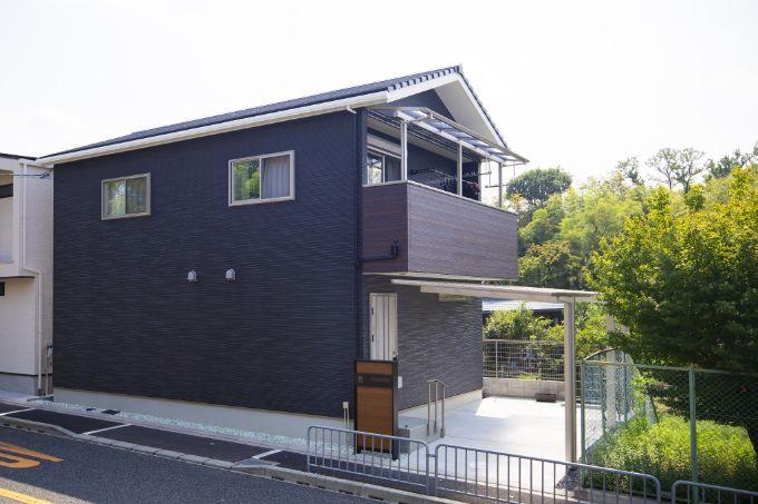 Tさんが建てた注文住宅の外観