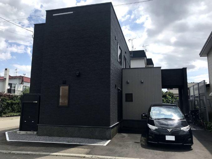 Iさんが建てた注文住宅の外観