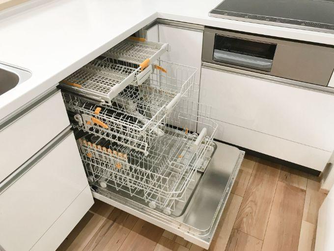 ビルトイン食洗器/注文住宅実例