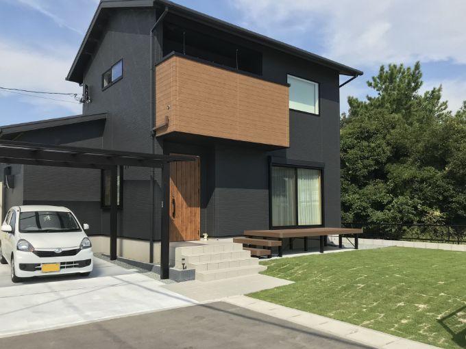 Mさんが建てた注文住宅の外観