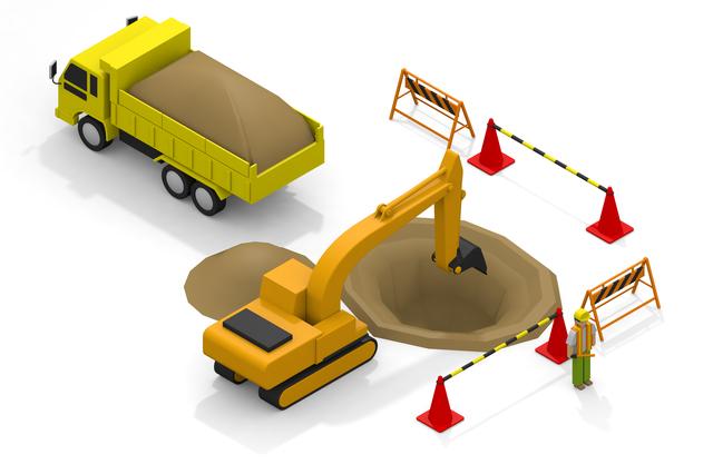 土工事のイメージ