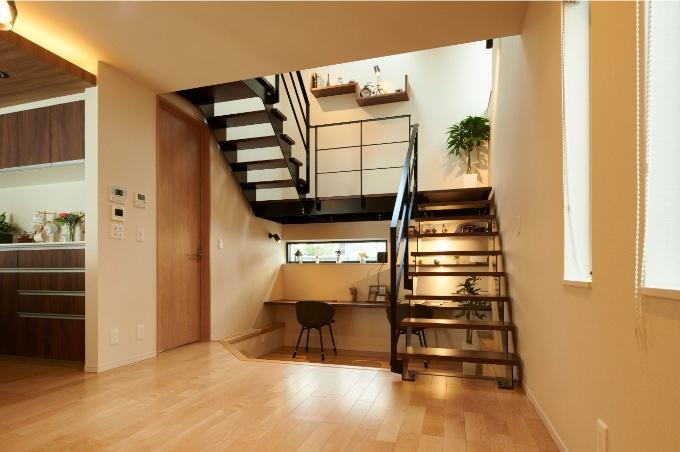 スケルトン階段の実例