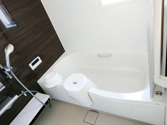 広々とした浴室/注文住宅実例