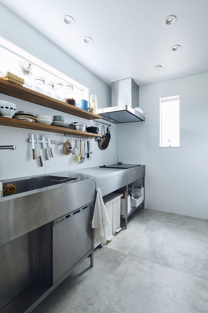 厨房のようなキッチンの施工例