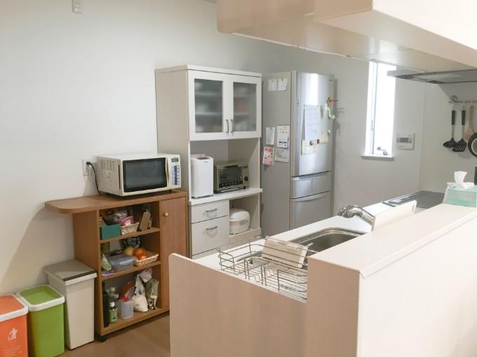 使いやすいシンプルなキッチン/注文住宅実例
