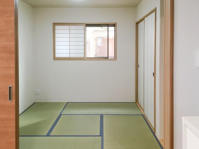 さまざまな用途で使えるwashitsu/注文住宅実例