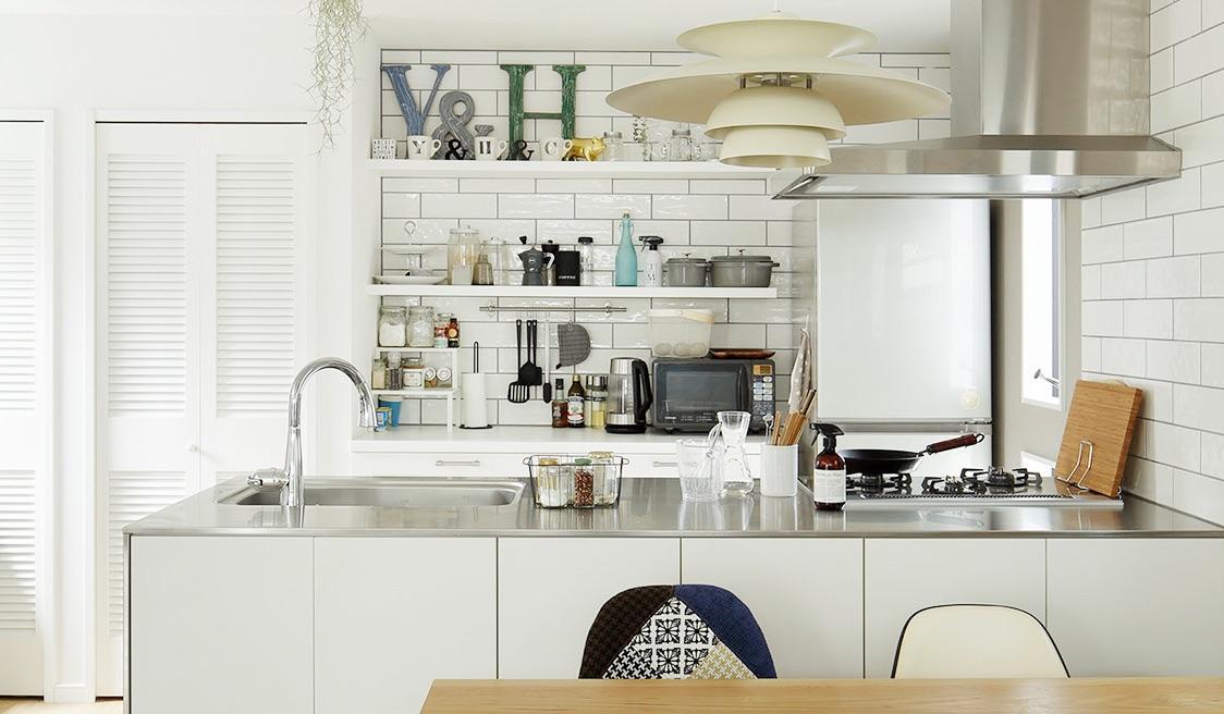 キッチン収納の施工例