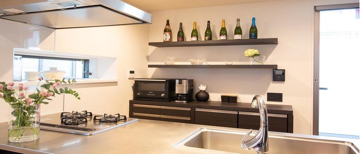 食器棚を造作した施工例