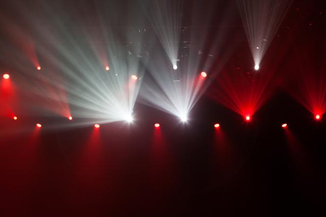 ライブハウスの照明