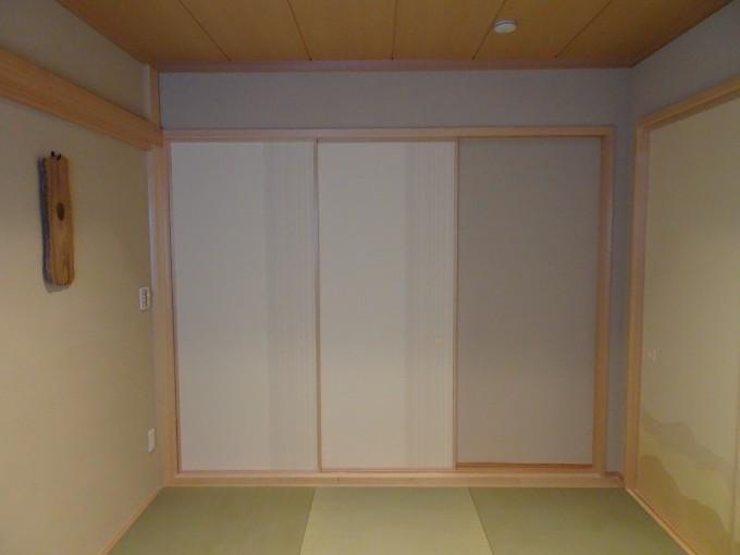 和室の建具