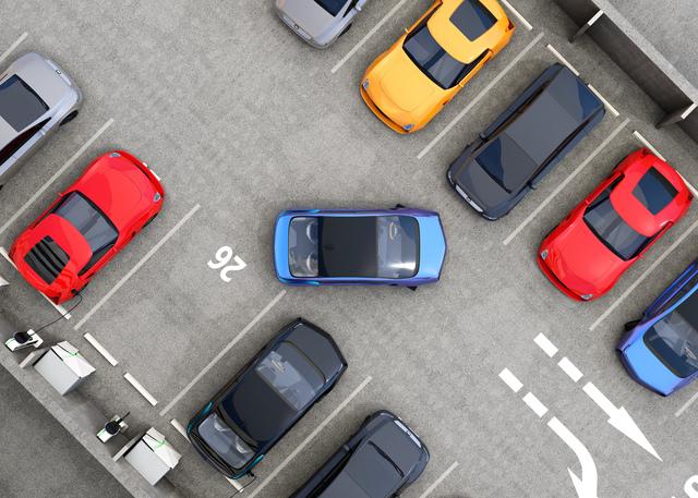 駐車スペースのイメージ