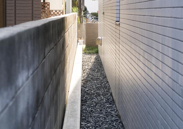 隣家との距離のイメージ