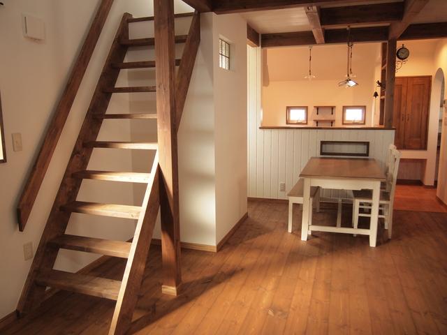 リビング階段のイメージ