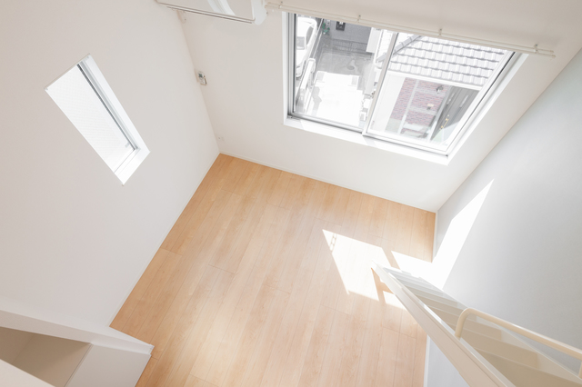 ロフトから見た空間のイメージ