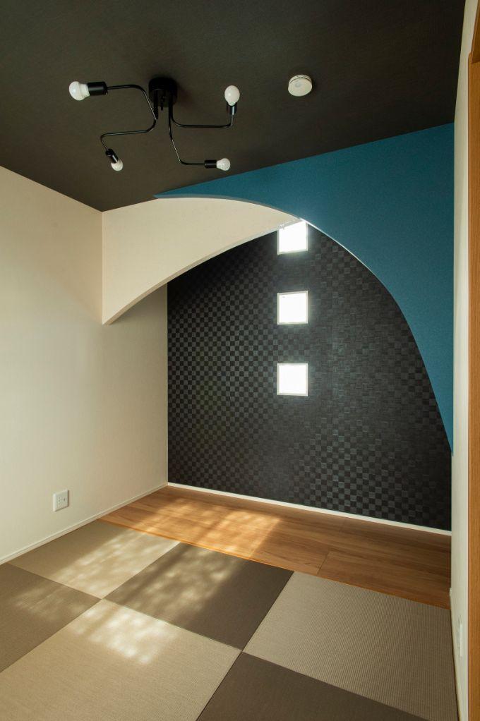 現代的なデザインの床の間