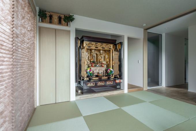 仏間の横にある床の間