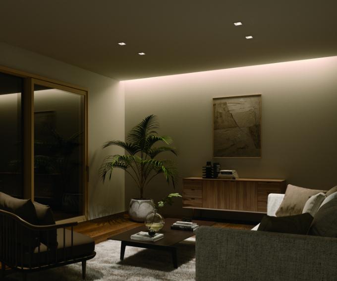 ライン照明の実例