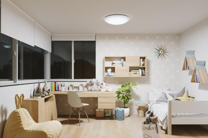 子ども部屋の間接照明の実例