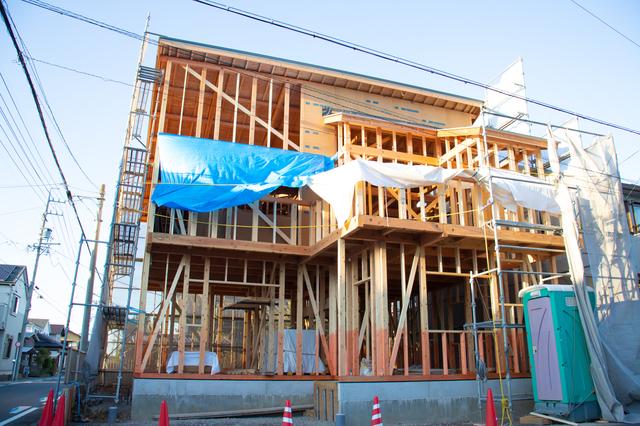 木造軸組工法の住宅