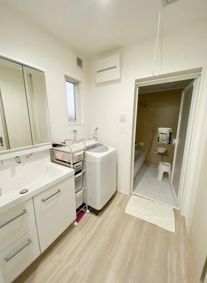洗面室/注文住宅実例