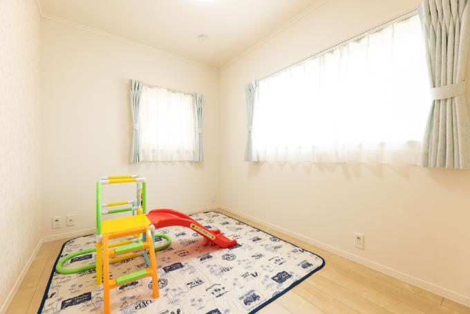 遊び場として使っている部屋/注文住宅実例
