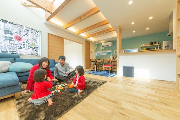 福岡県の注文住宅実例
