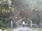 謙信公墓所と川中島戦死者供養塔への上り口@林泉寺