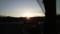 日の出@恩原高原(レイクサイド駐車場より)