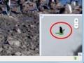 Google Map(南極大陸のペンギンのアイコン)