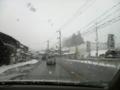 [風景]建部付近も雪