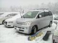 [車]まっちゃんのノア@大山槙原駐車場(滑走前)